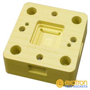 Candler contact block with spring probes from Exatron
